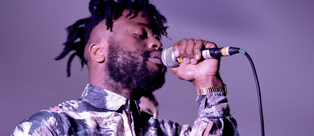 Young Fathers Get It Loud In Libraries